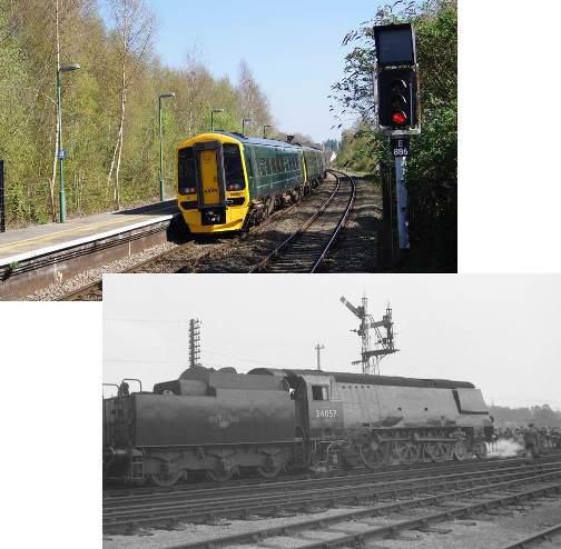 Hampshire Branch Lines Rail Tour 1967