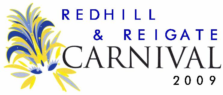 Redhill and Reigate Carnival logo
