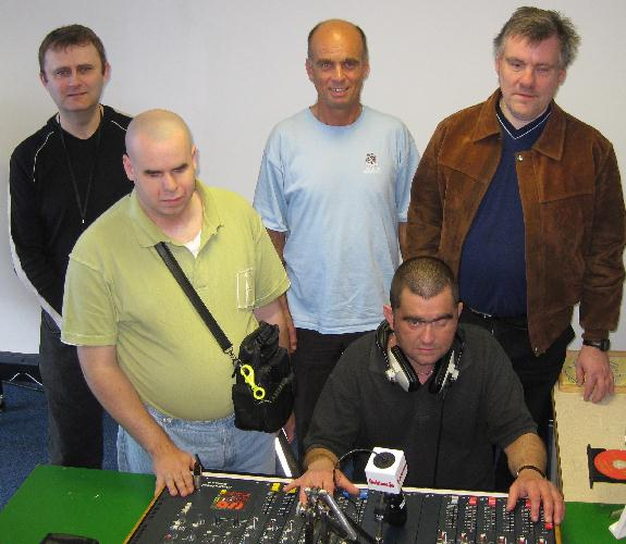 Radio students from the 2009 course.