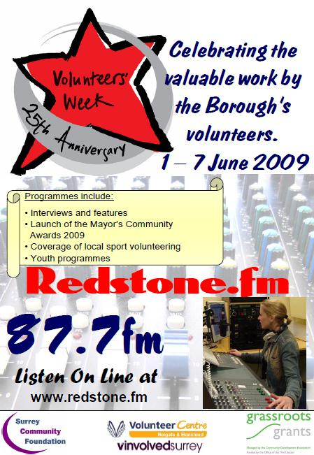 Volunteers' Week flyer
